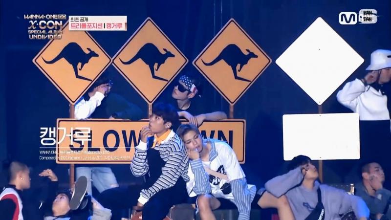 Wanna One Go Triple Position Kangaroo 캥거루 рус саб