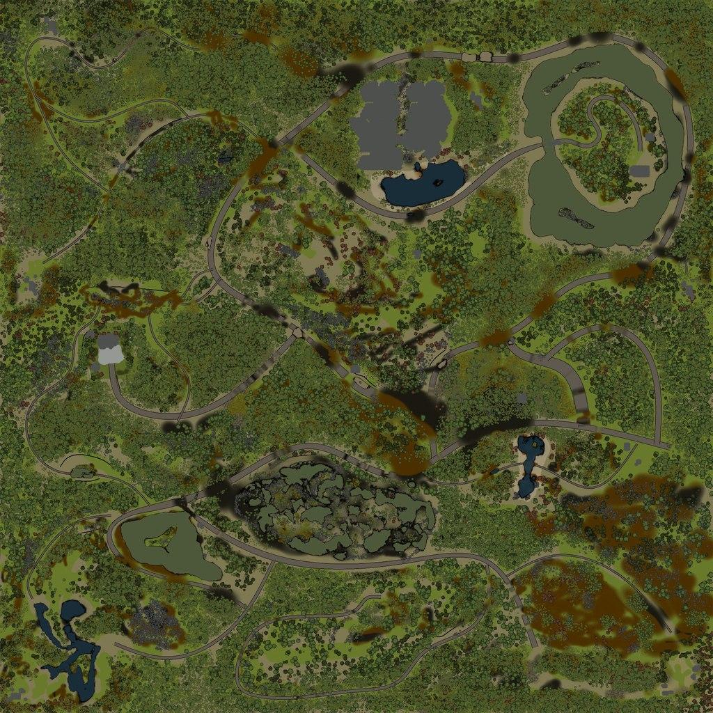 Карта Долина v2 13.04.2015 для Spintires - Скриншот 1