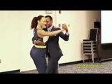 Konpa dance demo on Nu Look music - Cliford &amp Gaelle Jasmin - FAU 2014