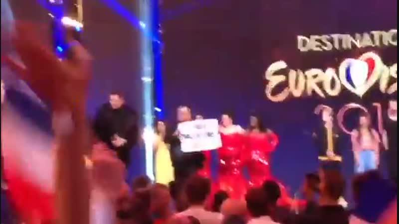 Les militants BDS perturbent les sélections pour l'Eurovision Pas d'Eurovision en Israël