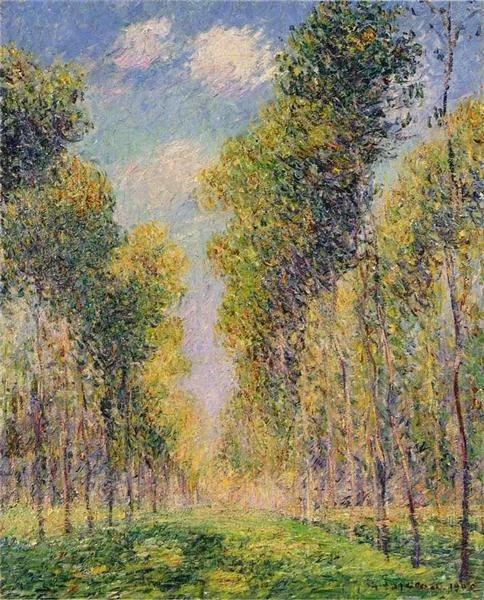Гюстав Луазо, Gustave Loiseau (1865-1935 - французский художник-постимпрессионист. Родился в семье парижского лавочника, торговца мясом. С детства мечтал стать художником. Отец будущего