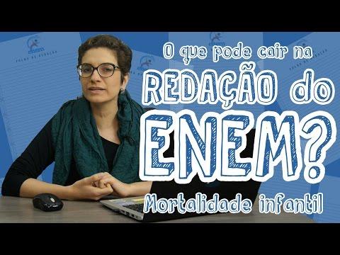 Temas para redação do ENEM - Mortalidade infantil no contexto brasileiro