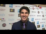 Glee Darren Criss interviewed at Hugh Jackman One Night Only benefiting MPTF