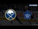 Buffalo Sabres Toronto Maple Leafs 22 09 2018