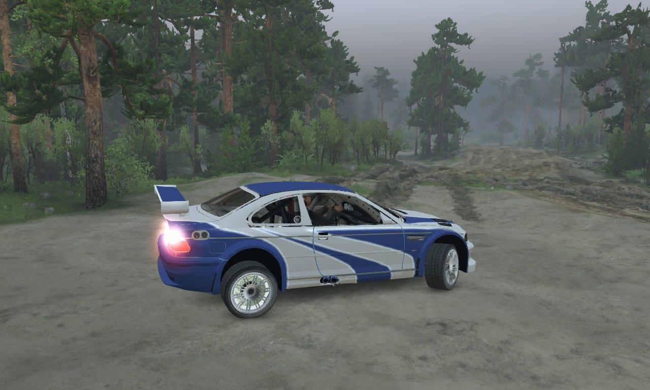 BMW M3 GTR для 03.03.16 для Spintires - Скриншот 1