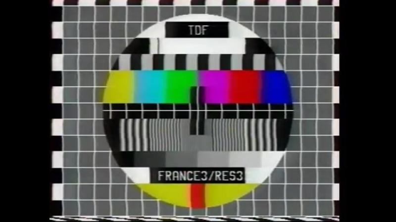 Анонсы и конец эфира (France 3 [Франция], 21.01.2001)