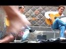Фламенко-гитара. Уличные музыканты Барселоны
