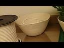 Cesto de Cadarço ou Corda com Ponto Zig Zag - Como Fazer Uma Cestinha Fácil - Tutorial de Artesanato