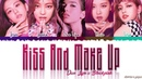 (OFFICIAL AUDIO) DUA LIPA & BLACKPINK - 'KISS AND MAKE UP' Lyrics [Color Coded_Han_Rom_Eng]