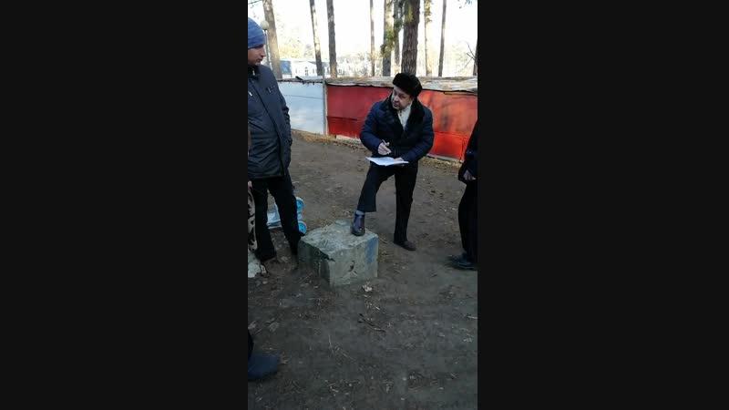 Выселение погорельцев из санатория Лесное, Тольятти