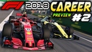 F1 2018 PS4 CAREER MODE Preview Part 2 FIRST RACE! AI IMPROVEMENTS F1 2018 Game Ferrari Career