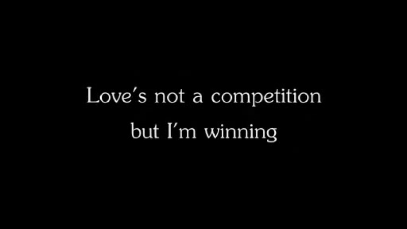 Kaiser Chiefs-Love Not A Competition(But Im Winning)