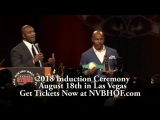 WBC будет присутствовать на 2018 году в Зале славы бокса в Неваде.