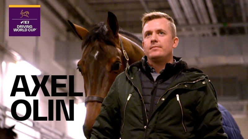 Axel Olin's first time at the FEI Driving World Cup™ Rider in Focus
