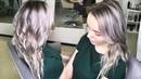 Окрашивание в Блонд без желтизны Плавная растяжка цвета Видео тренинг по колористике для новичков