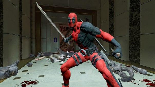 Новые скриншоты из видеоигры Deadpool _EeV6pJ2LhM