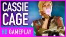 Геймплей Mortal Kombat 11 — Кэсси Кейдж vs Соня Блэйд
