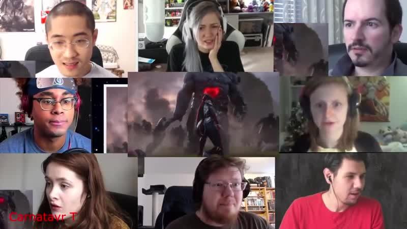 Carnatavr T Awaken ft Valerie Broussard League of Legends Cinematic Season 2019 Reactions Mashup