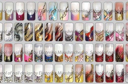 Дизайны ногтей от екатерины мирошниченко