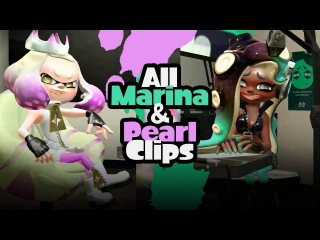 Splatoon 2 | All Marina and Pearl Clips From the Splatfest Demo