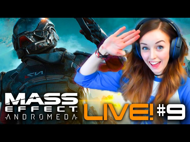 🚀18 MASS EFFECT: ANDROMEDA *LIVE* - PART 9 ☄ THE BIGGEST PUZZLE FAIL EVER!
