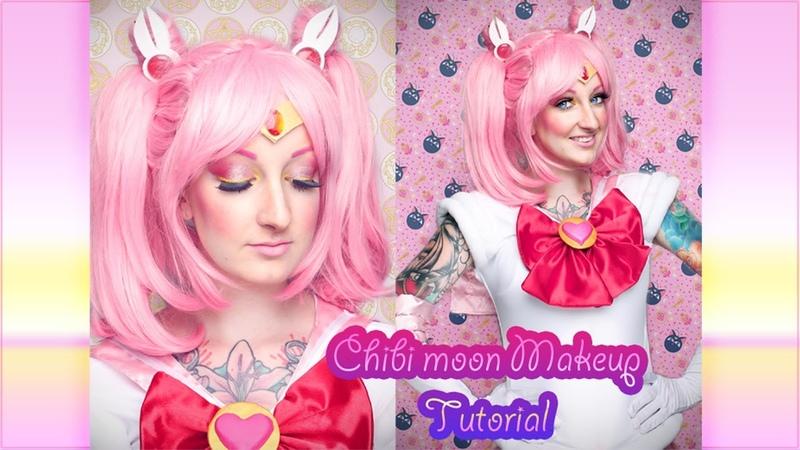 Chibi moon inspired makeup tutorial