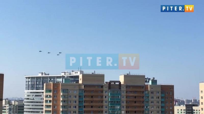 Вертолёты в Кудрово 18.07.2018
