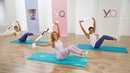 10-минутная барр-тренировка Плоский живот. 10-Minute Flat-Belly Barre Workout