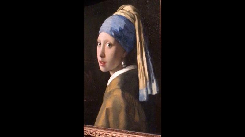 3, Johannes Vermeer (1632-1675) The Gir With The Pearl Earring (1665), Vermeer