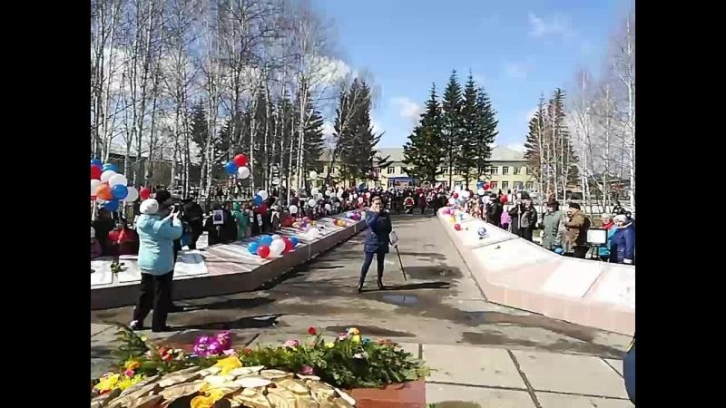 День Победы в Казачинском