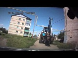 ДТП. Трактор Снес Газовую Трубу! Авария на газопроводе