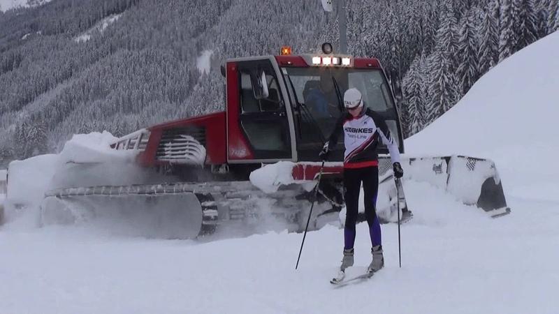 МЕГАМАШИНЫ БИАТЛОНА. Машина для подготовки лыжных трасс. Как чистить снег?Чудо техника