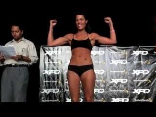 Musas do MMA se encaram com vontade Felice Herrig VS Nicdali Rivera