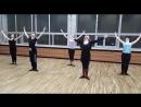Plie в стиле модерн. Я и мои ученики, танцоры бального танца. ТСК Прожектор