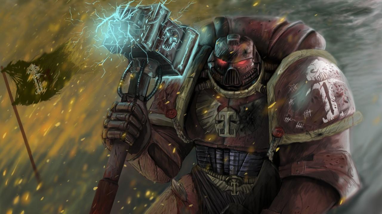 молот из вселенной Warhammer