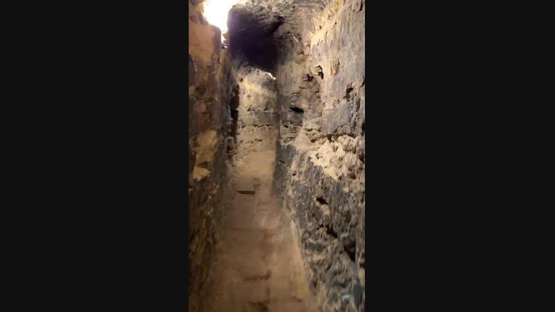 Лабиринты подземной церкви в г.Саров.