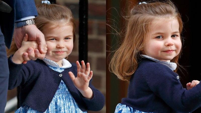 Принцесса Шарлотта в свои 3 года доказала, что умеет держаться на публике как королева