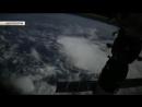 Российский космонавт снял на видео полёт МКС над Землей.mp4