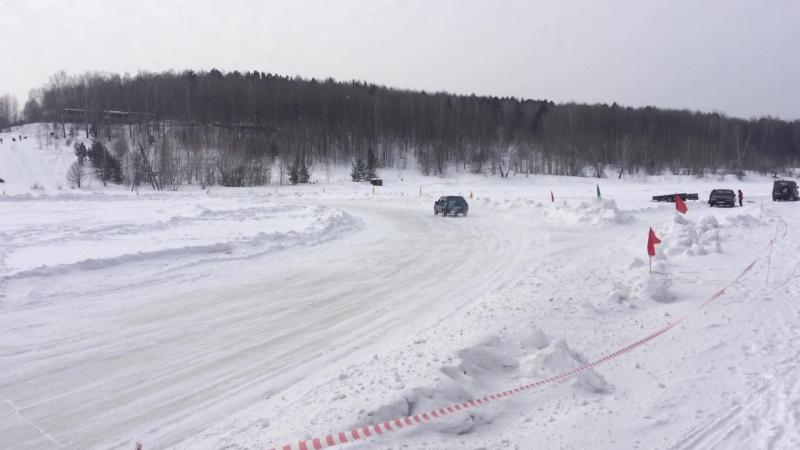 Тайм Атак2 Ачинск 09 на льду. Первый опыт в официале ТЮНИНГ ВАЗ АЧИНСК