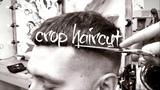 tutorial. Textured Crop Haircut. fade