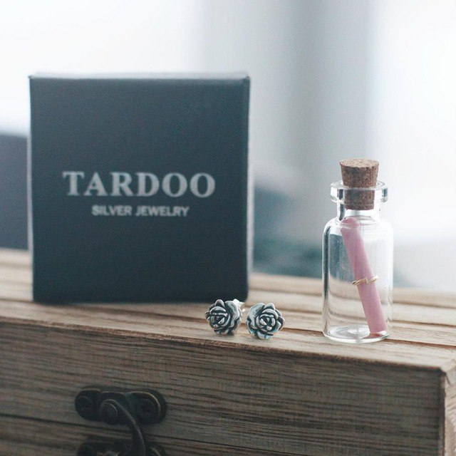 Серьги- розочки от TARDOO и код на скидку