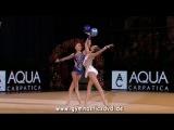 Grand Prix Bucharest 2016 - Arina &amp Dina Averina (RUS) Gala Show
