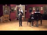 С.В.Рахманинов Вокализ. Иван Полканов (кларнет) Софья Виноградова (фортепиано)