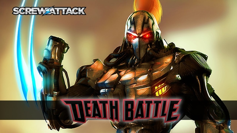 Fulgore enters DEATH BATTLE!   ScrewAttack