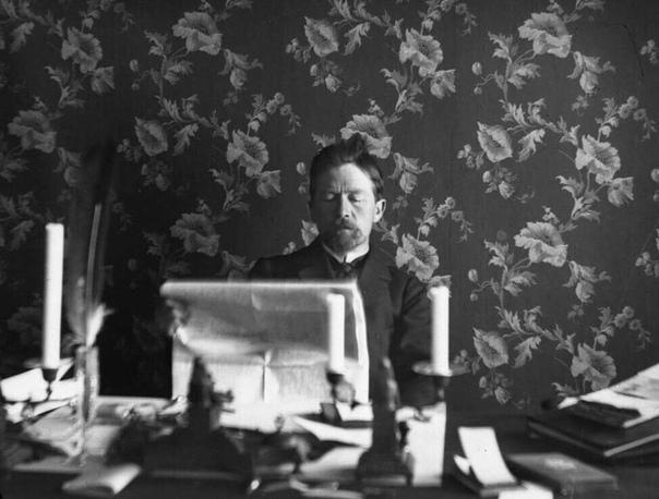 Чехов необычные стихи. Как сообщал журнал Книжный мир 7 за 1910 год, После смерти Антона Павловича Чехова в его личном архиве, было обнаружено необычное стихотворение. Оно полностью составлено