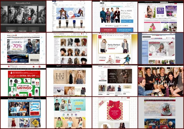 ТОП-20 иностранных интернет-магазинов одежды →