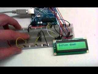 Работа кнопки, подключенной к Arduino