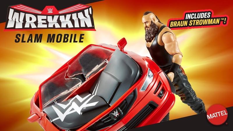 Mattels WWE Wrekkin Slam Mobile with Braun Strowman available now
