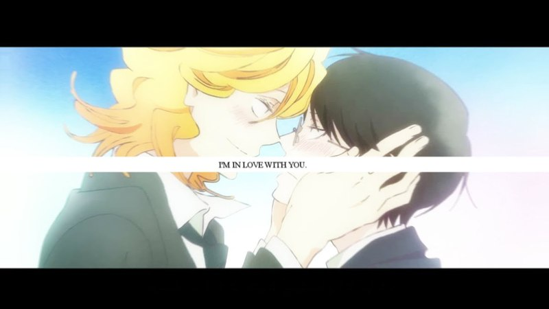 I'm in love with you [Doukyuusei AMV]