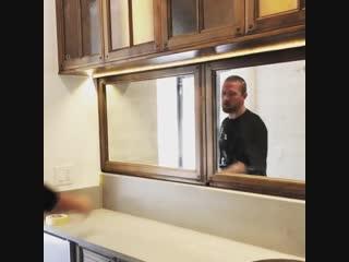 Оригинальная идея с зеркалом для ванной комнаты - vk.com/tricks_lf